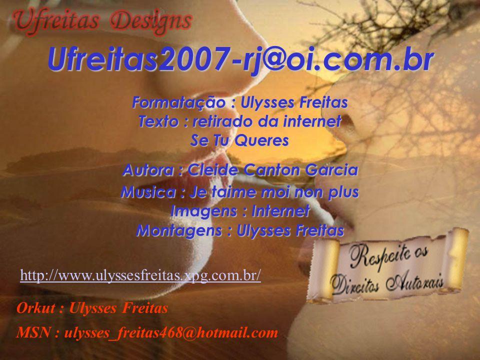Ufreitas2007-rj@oi.com.br Formatação : Ulysses Freitas