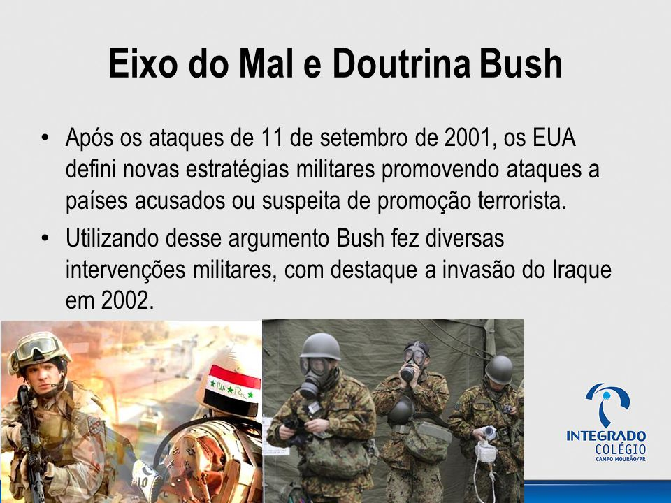 Eixo do Mal e Doutrina Bush