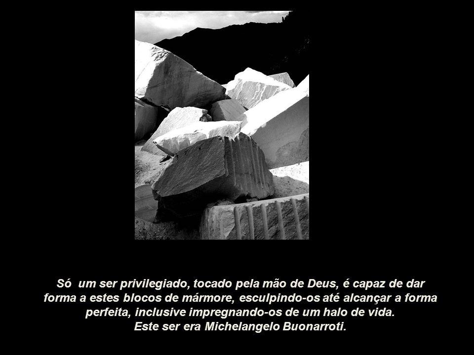 Este ser era Michelangelo Buonarroti.