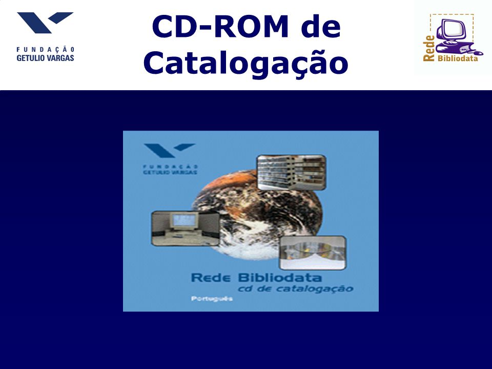 CD-ROM de Catalogação