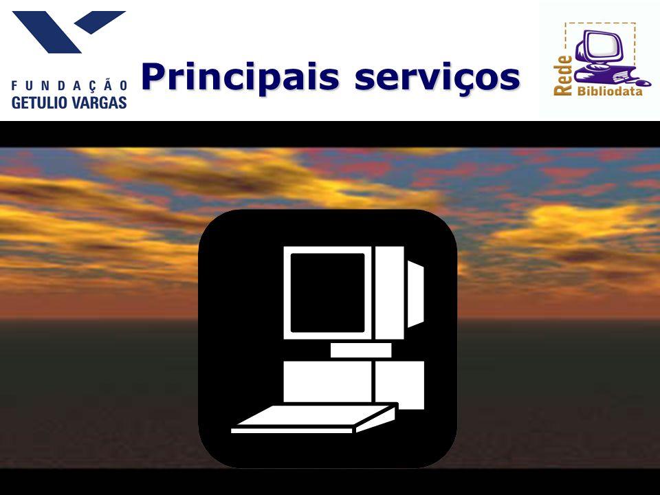 Principais serviços