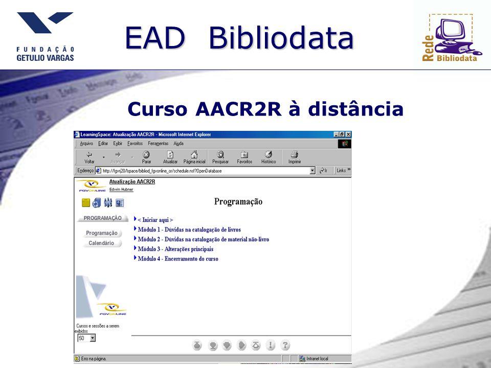 Curso AACR2R à distância