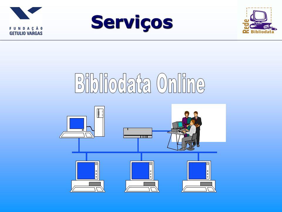 Serviços Bibliodata Online