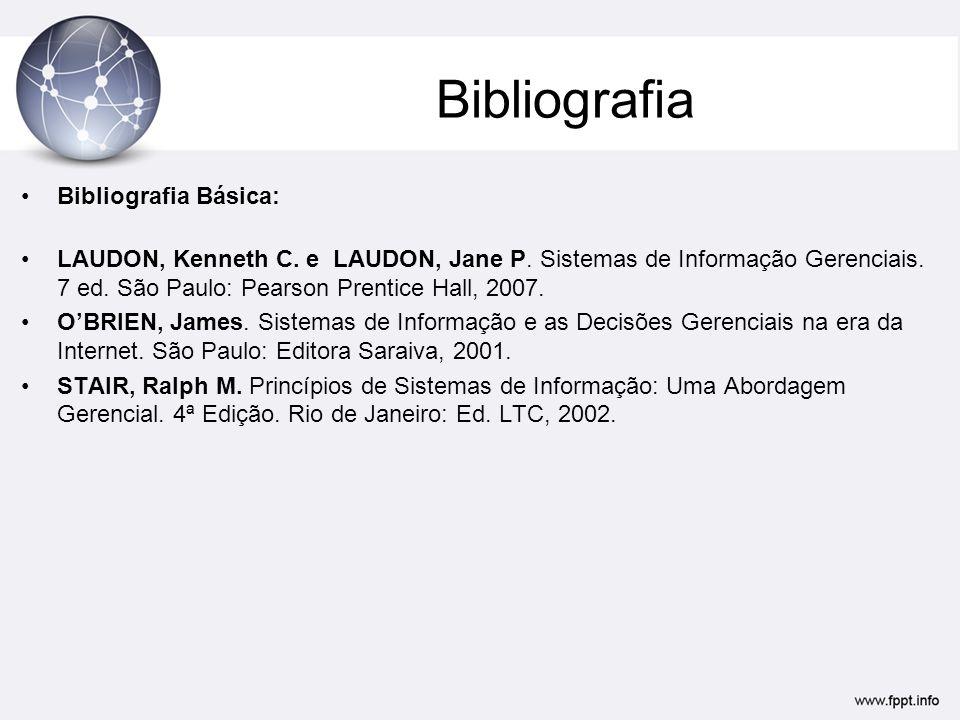 Bibliografia Bibliografia Básica: