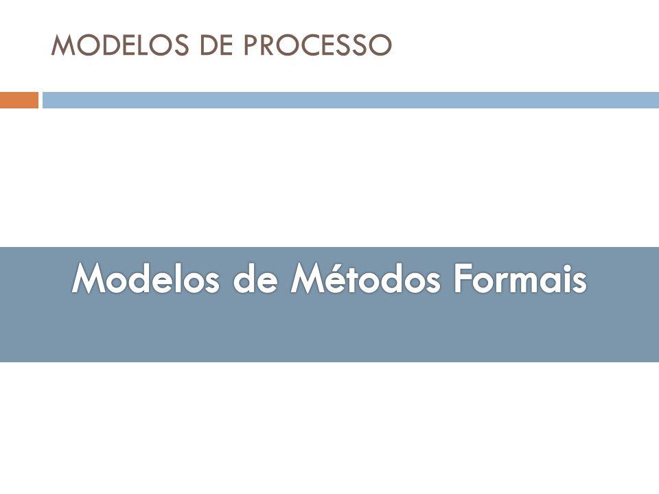 Modelos de Métodos Formais