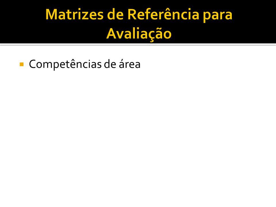 Matrizes de Referência para Avaliação