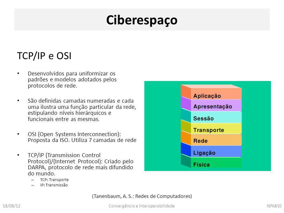 (Tanenbaum, A. S.: Redes de Computadores)