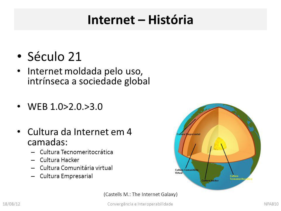 (Castells M.: The Internet Galaxy)