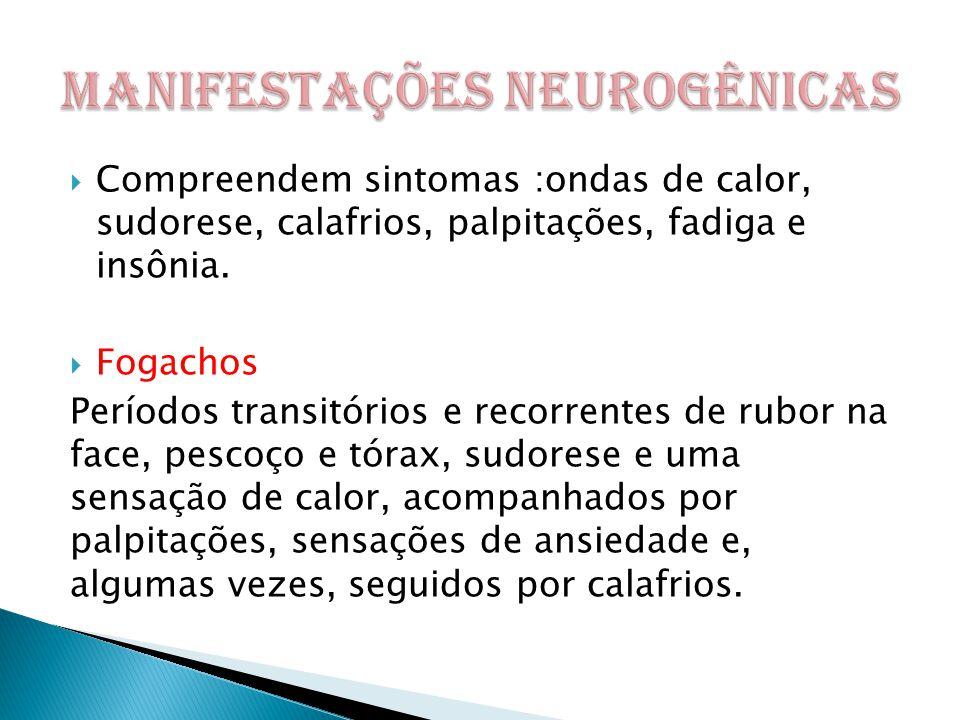 MANIFESTAÇÕES NEUROGÊNICAS