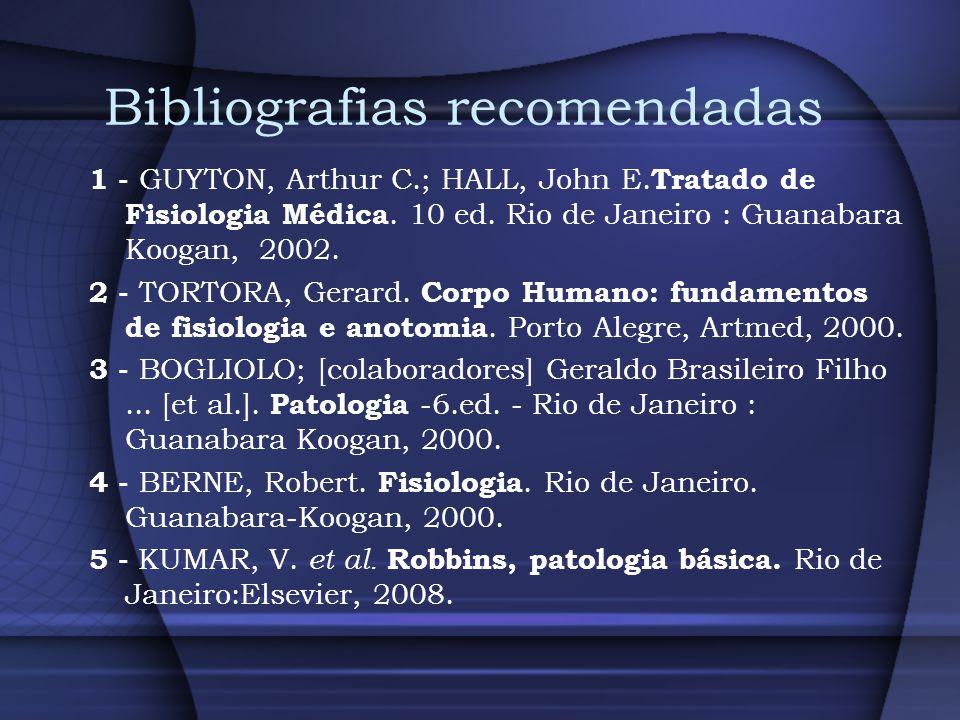 Bibliografias recomendadas