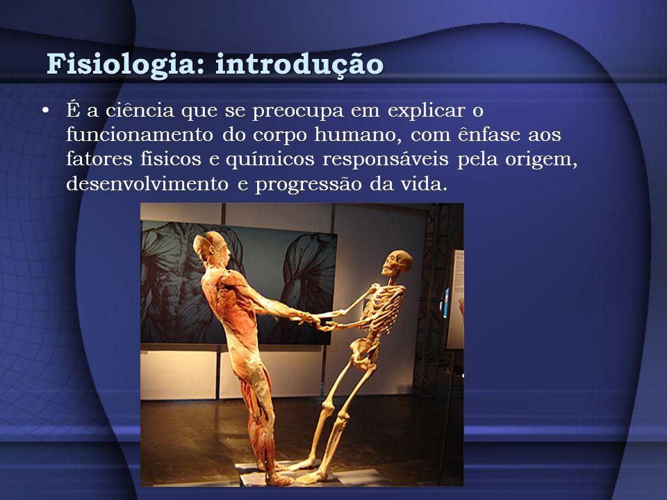 Fisiologia: introdução