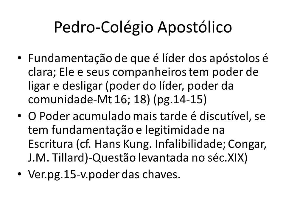 Pedro-Colégio Apostólico