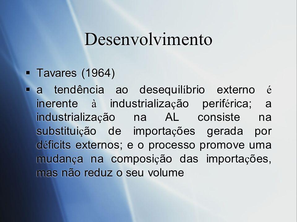 Desenvolvimento Tavares (1964)