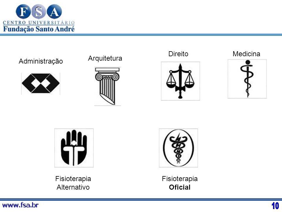 10 Direito Medicina Arquitetura Administração Fisioterapia Alternativo