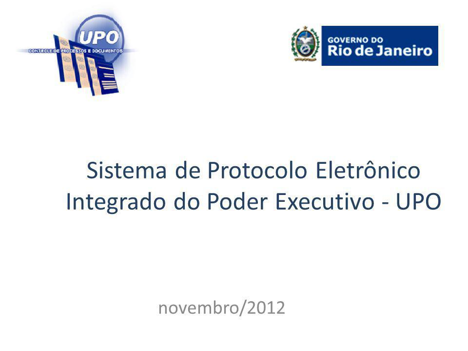 Sistema de Protocolo Eletrônico Integrado do Poder Executivo - UPO