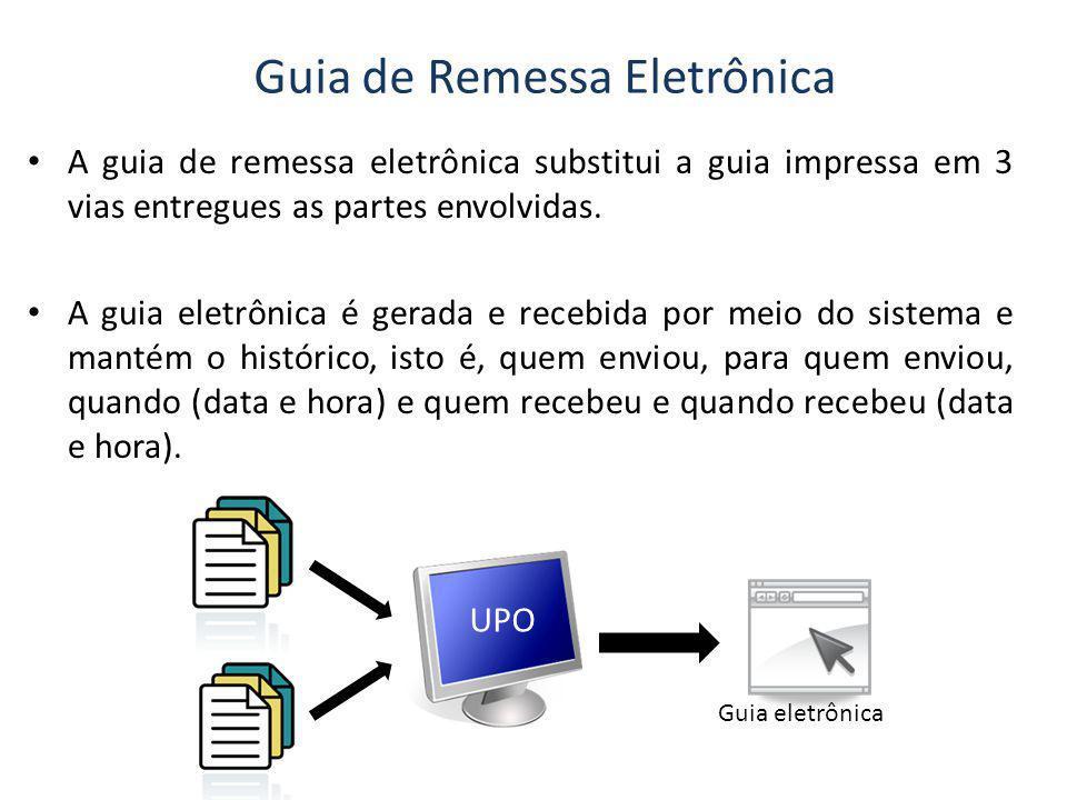 Guia de Remessa Eletrônica