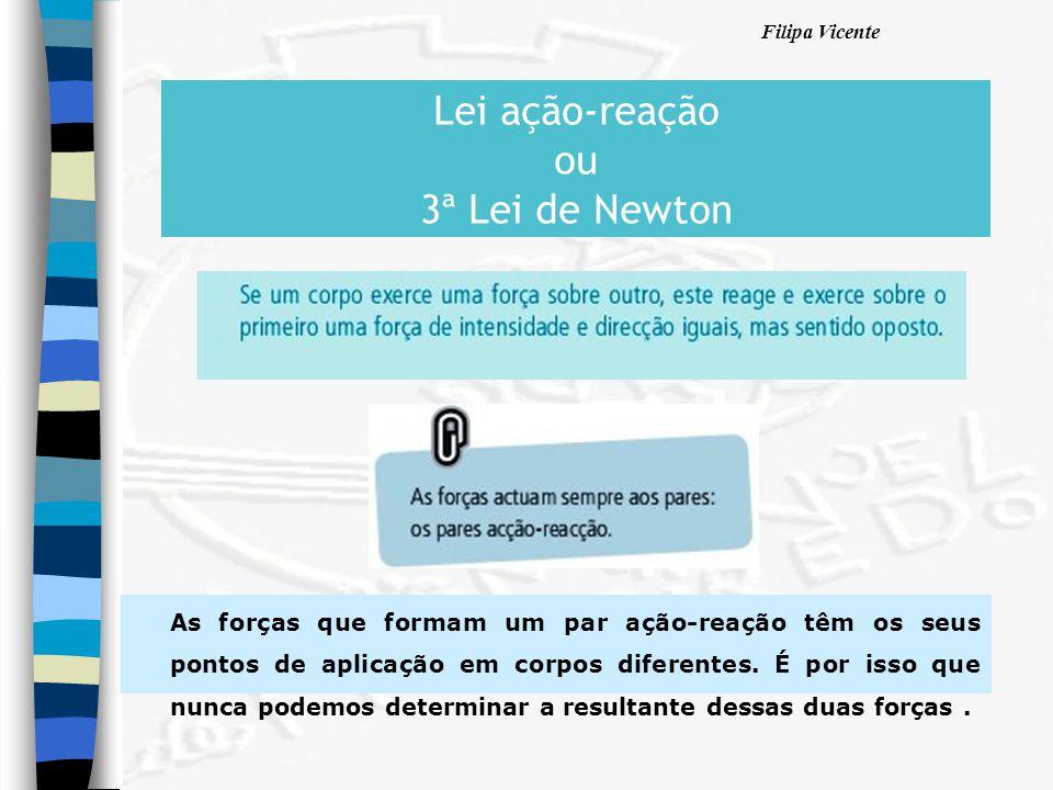 Lei ação-reação ou 3ª Lei de Newton