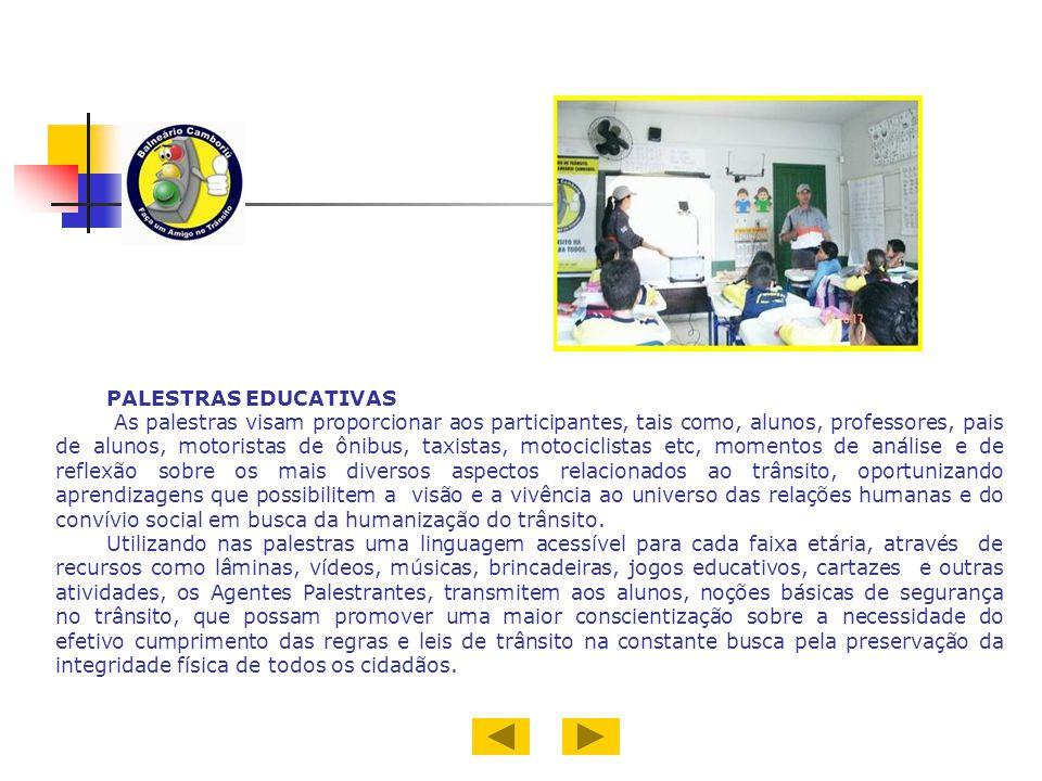PALESTRAS EDUCATIVAS.