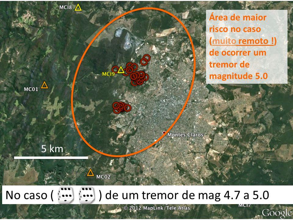 No caso ( ) de um tremor de mag 4.7 a 5.0