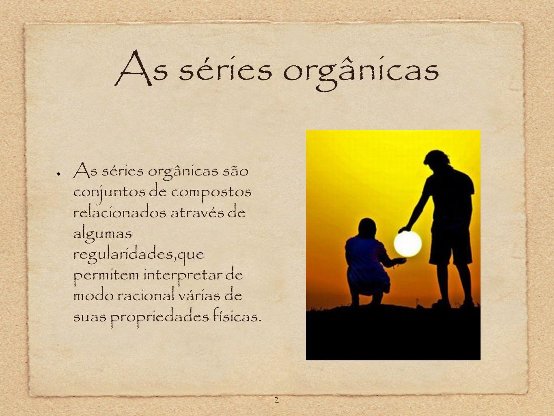 As séries orgânicas