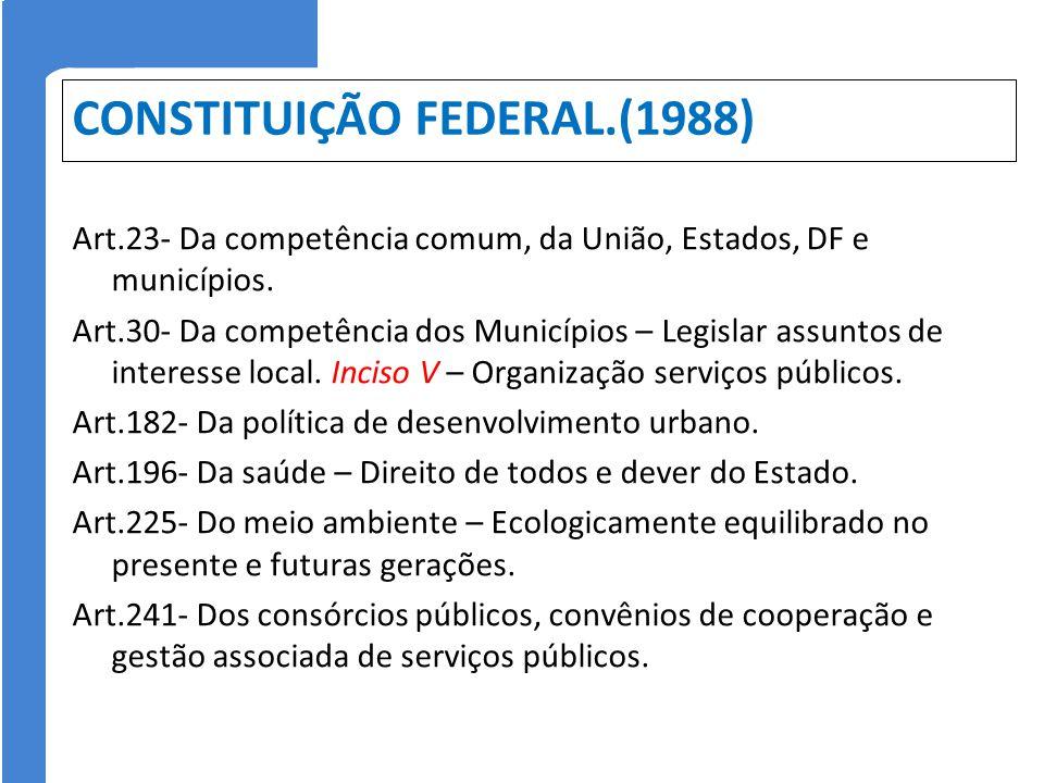 CONSTITUIÇÃO FEDERAL.(1988)