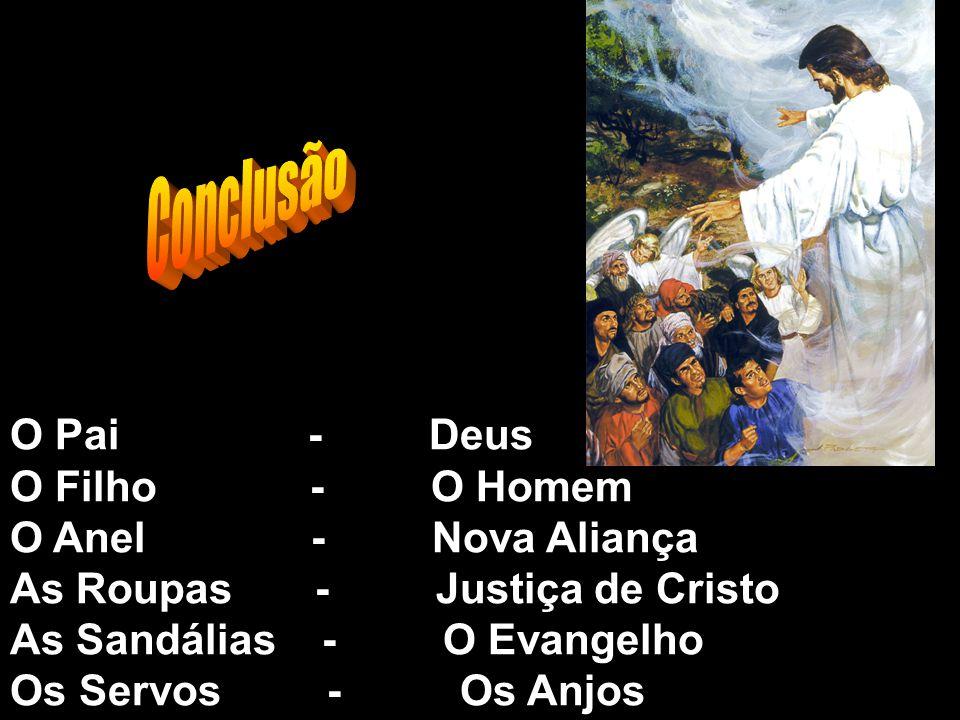 Conclusão O Pai - Deus O Filho - O Homem O Anel - Nova Aliança