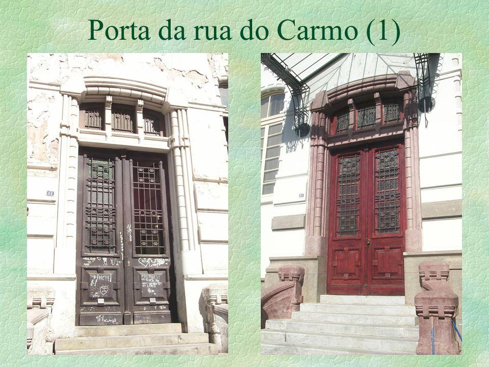 Porta da rua do Carmo (1)