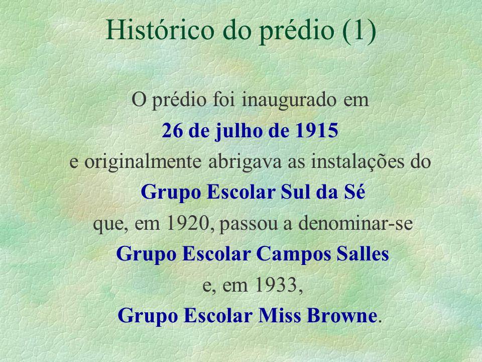 Histórico do prédio (1)