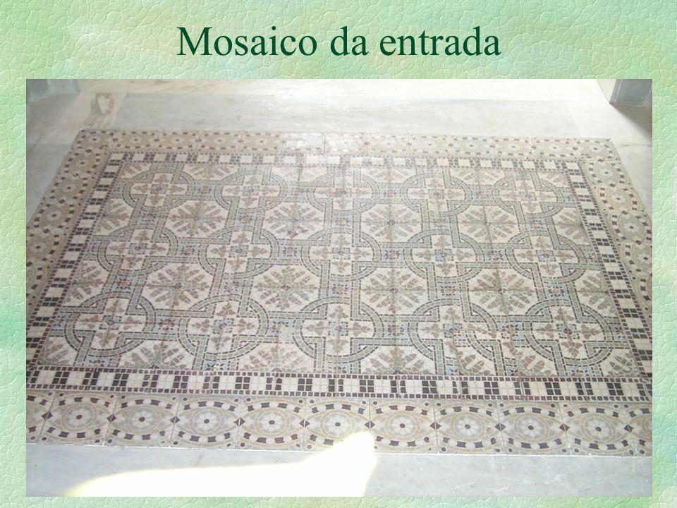 Mosaico da entrada