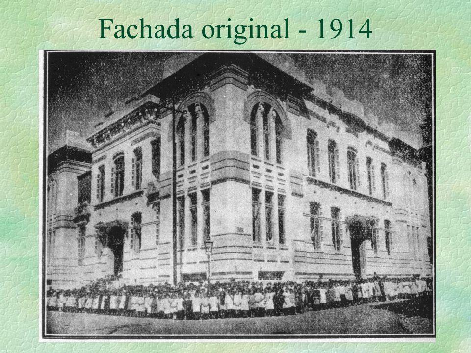 Fachada original - 1914