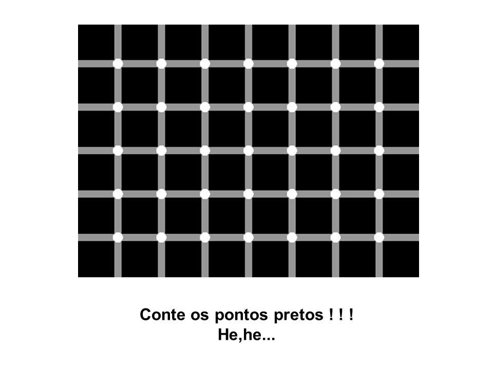 Conte os pontos pretos ! ! ! He,he...