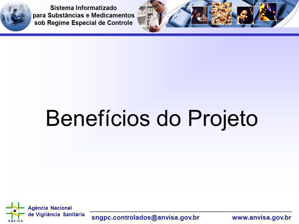 Benefícios do Projeto Informática Sistema Informatizado