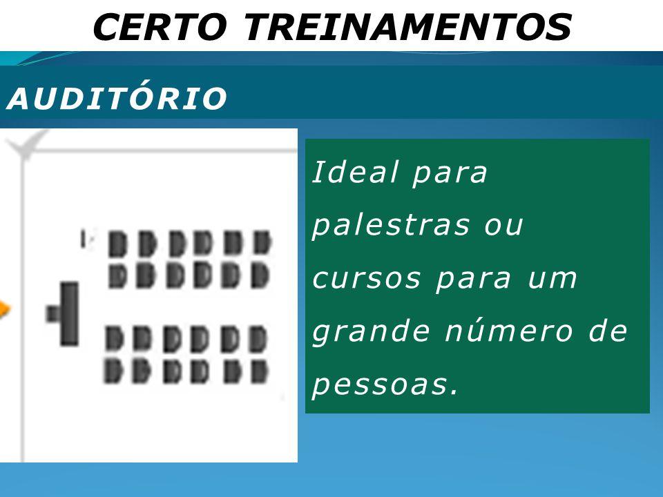 CERTO TREINAMENTOS AUDITÓRIO