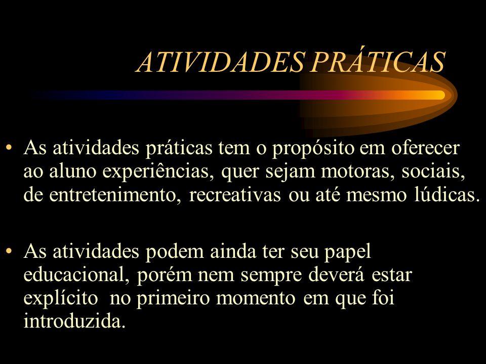 ATIVIDADES PRÁTICAS