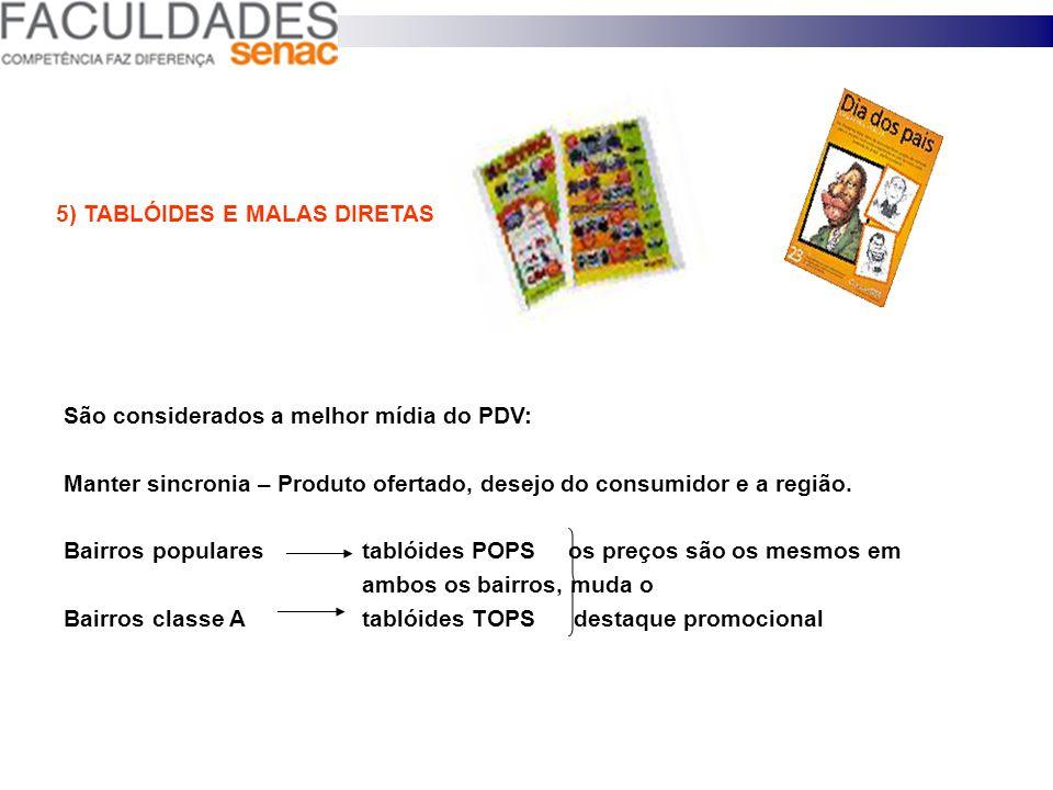 5) TABLÓIDES E MALAS DIRETAS
