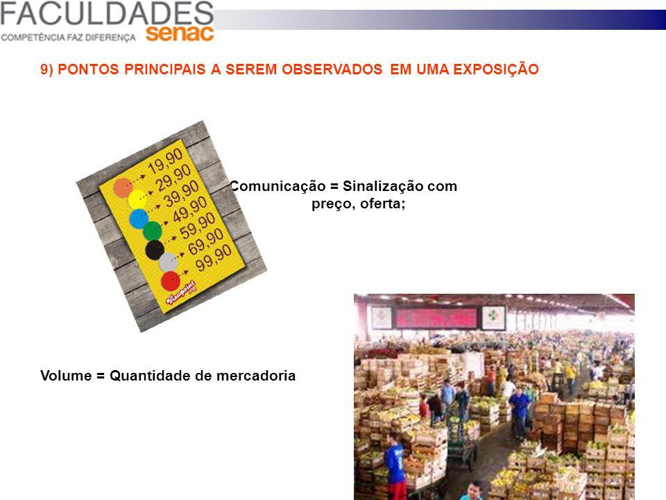 9) PONTOS PRINCIPAIS A SEREM OBSERVADOS EM UMA EXPOSIÇÃO