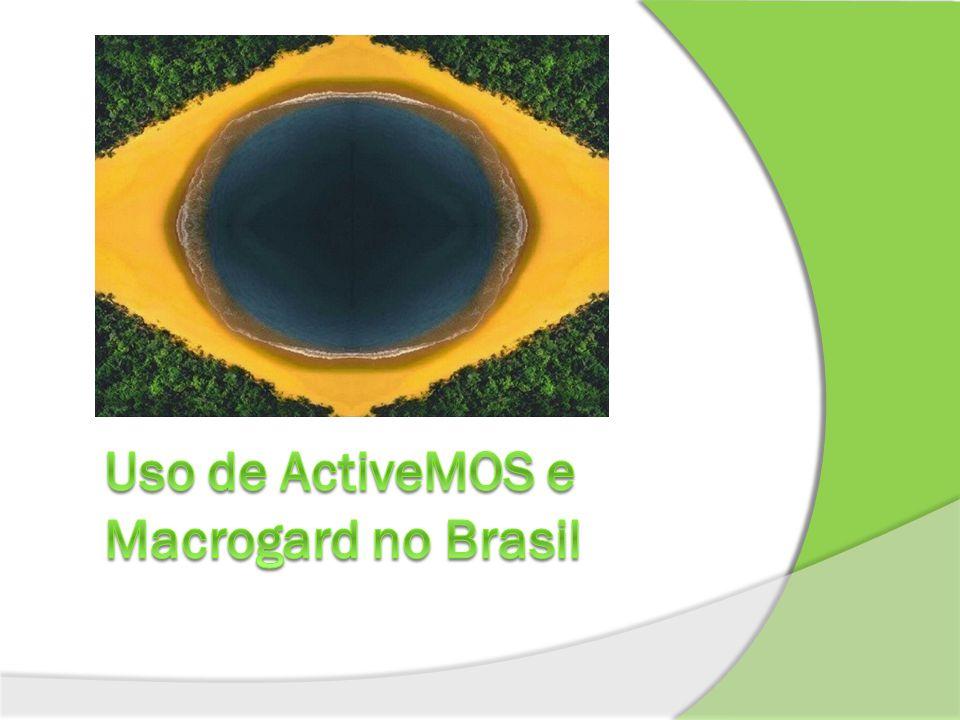 Uso de ActiveMOS e Macrogard no Brasil