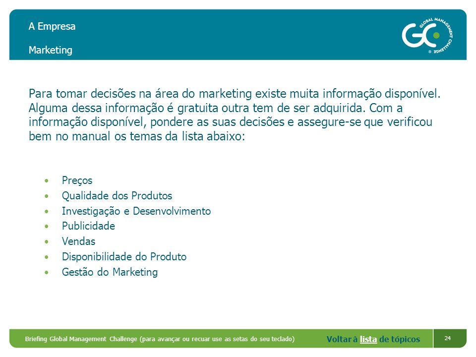 A Empresa Marketing