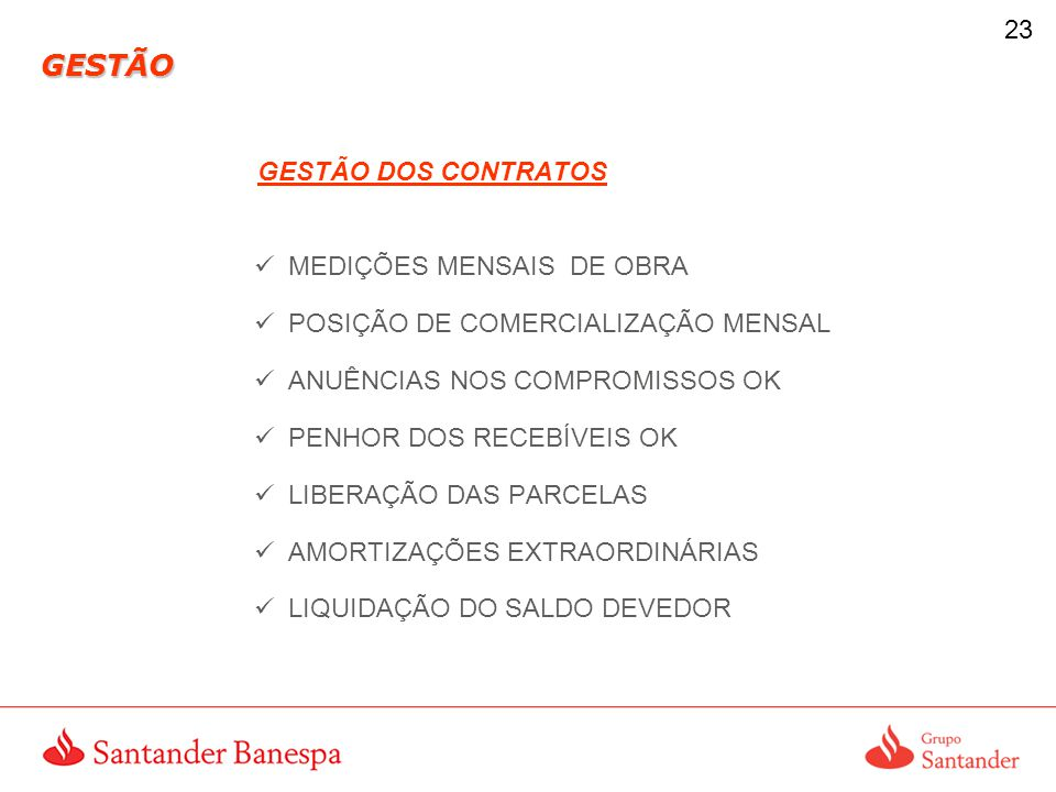 GESTÃO GESTÃO DOS CONTRATOS MEDIÇÕES MENSAIS DE OBRA