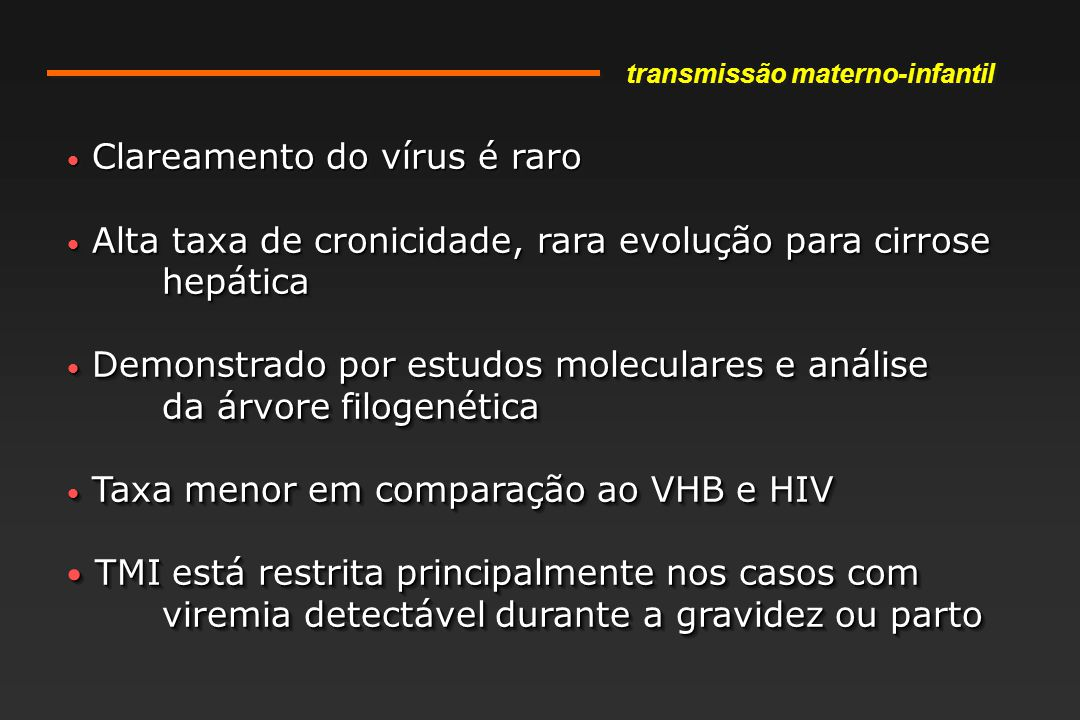 Clareamento do vírus é raro