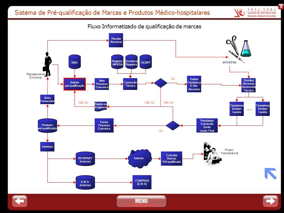 Fluxo Informatizado de qualificação de marcas