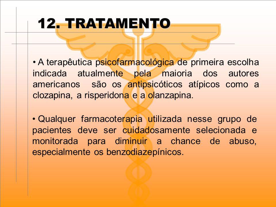 12. TRATAMENTO