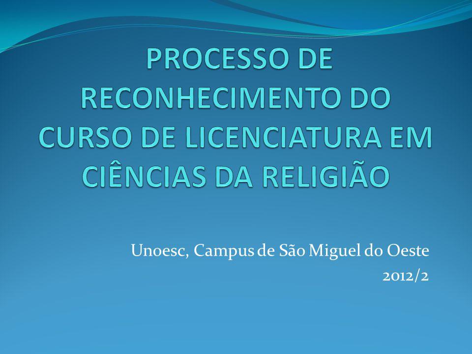 Unoesc, Campus de São Miguel do Oeste 2012/2