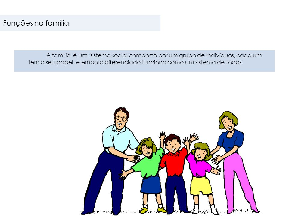 Funções na família
