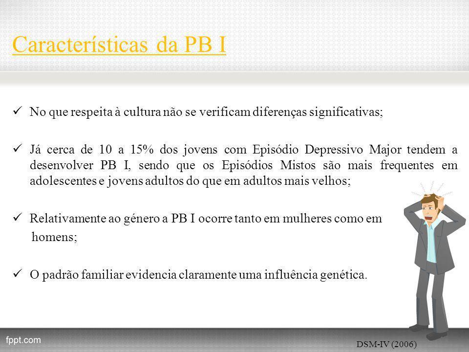Características da PB I