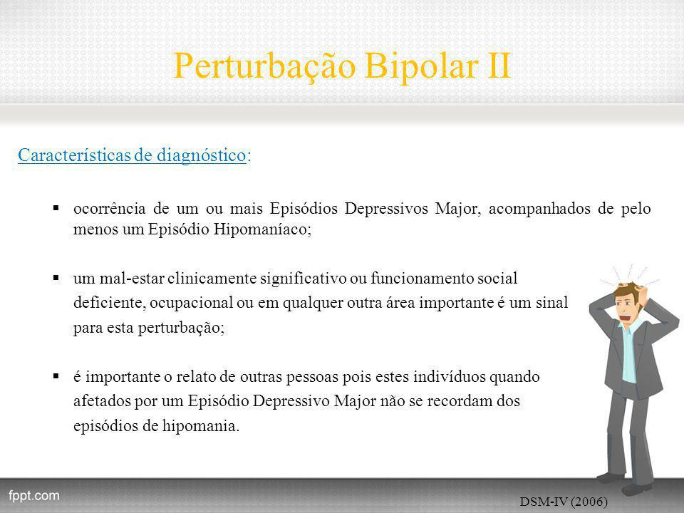 Perturbação Bipolar II