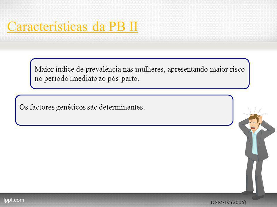 Características da PB II