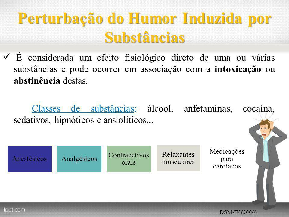 Perturbação do Humor Induzida por Substâncias