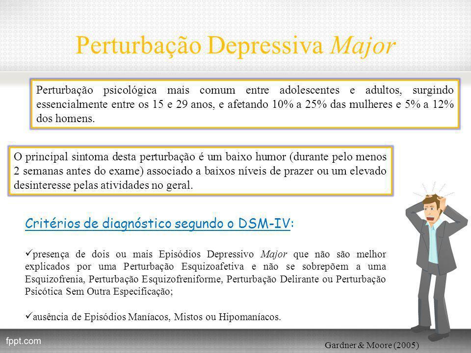 Perturbação Depressiva Major