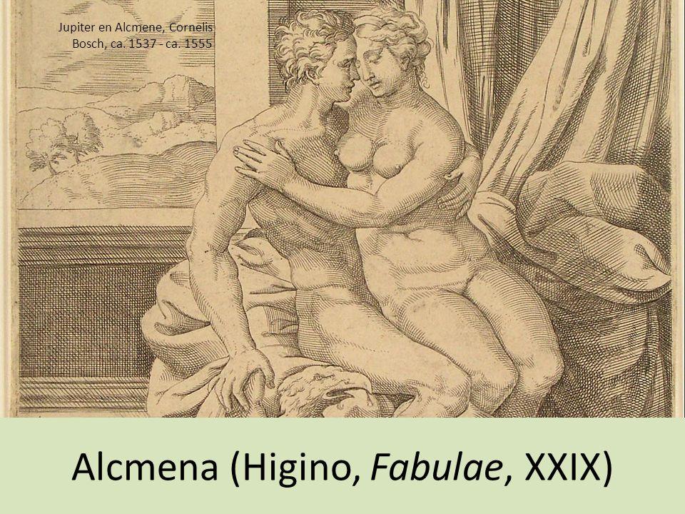 Alcmena (Higino, Fabulae, XXIX)